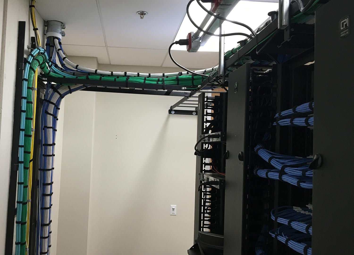 structured network data cabling wiring denver fort collins rh intsysinst com
